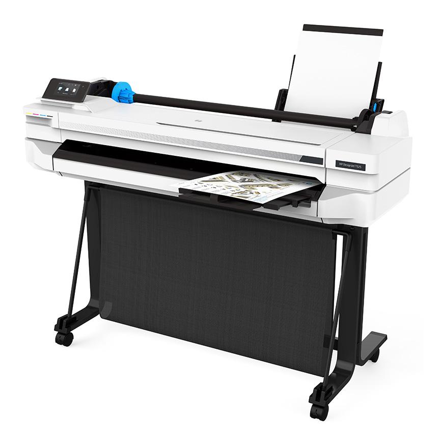 HP DesignJet T530 36-in Plotter Printer