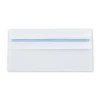 Envelope DL 90gsm White Self-Seal - Non Window