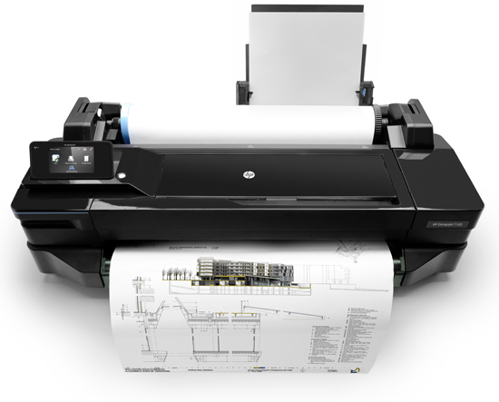 HP Designjet T120 E-printer 24