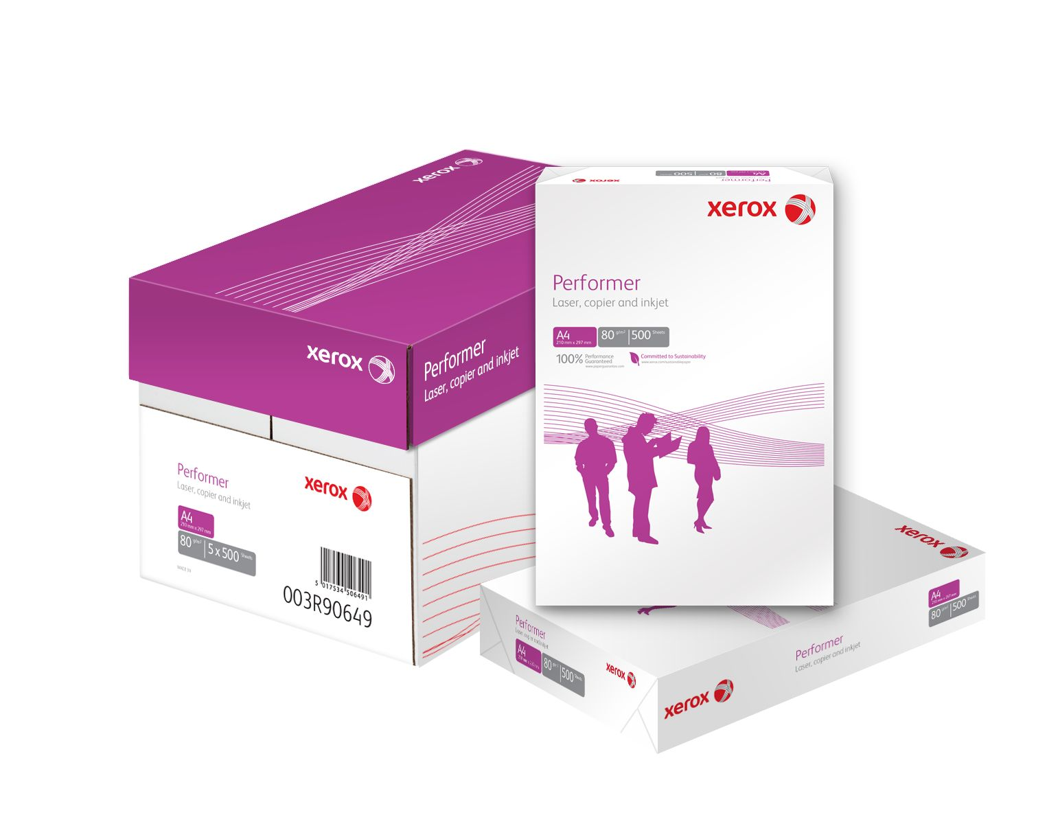 Xerox Performer A4 Office Paper 80gsm