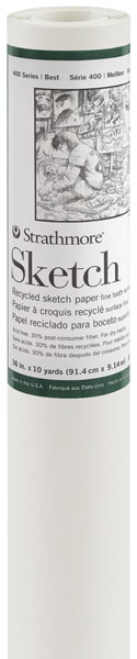 Tracing / Sketch Roll 375mm x 20m 42gsm